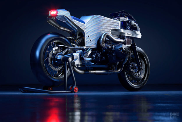 Billet Sting: A wild monocoque-framed BMW R nineT from DNA Filters