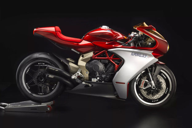 The 2019 MV Agusta Superveloce 800