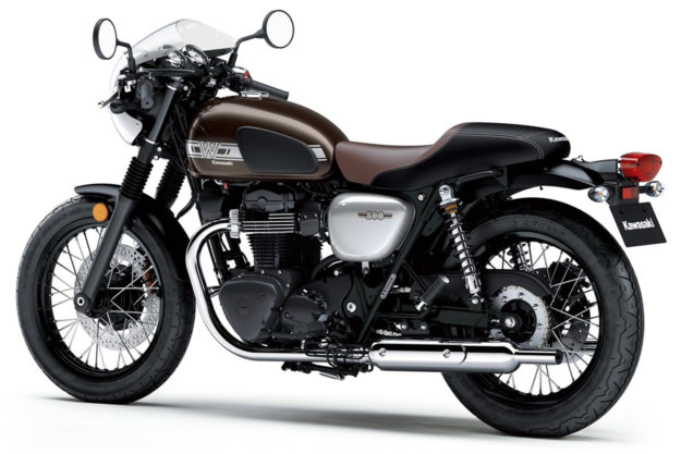 The 2019 Kawasaki W800 Cafe