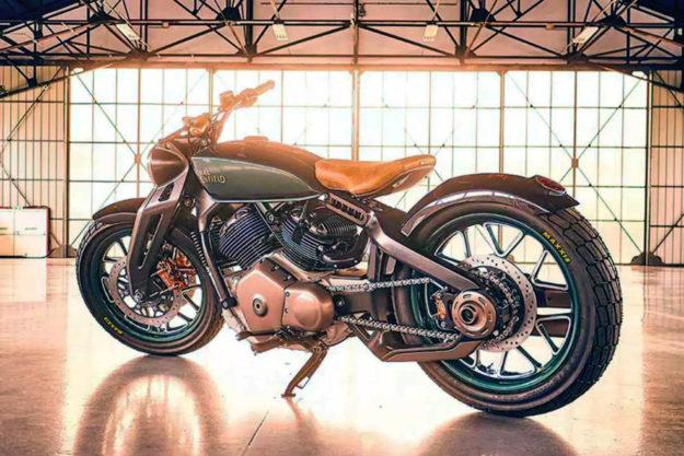 Royal Enfield Concept KX bobber
