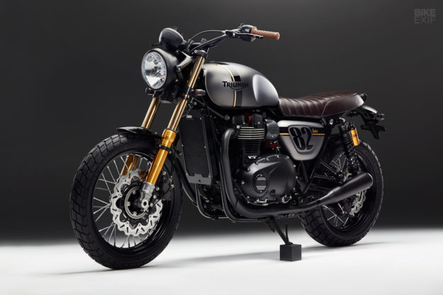 Triumph Street Twin custom by Bunker