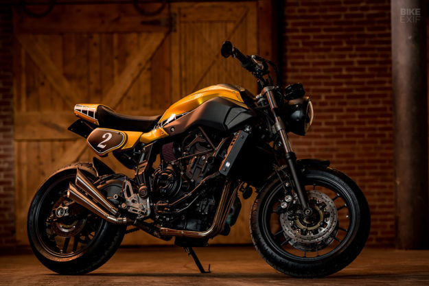 Yamaha MT-07 by custom builder Greg Hageman