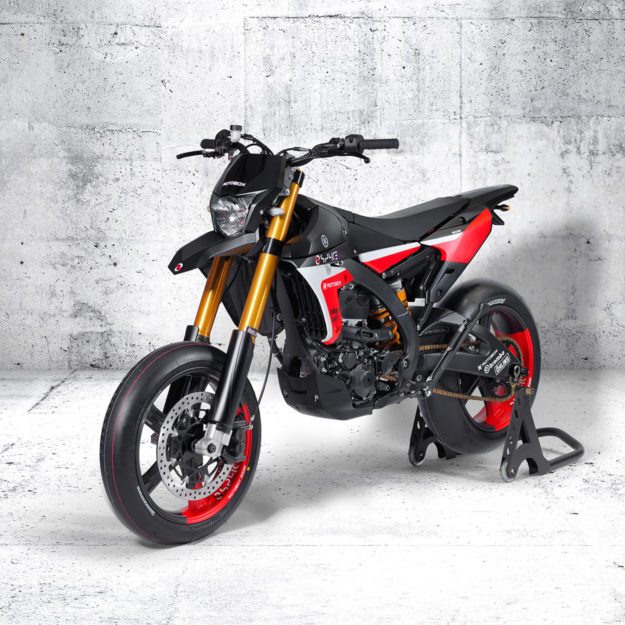 Yamaha WR450F supermoto by Rotobox