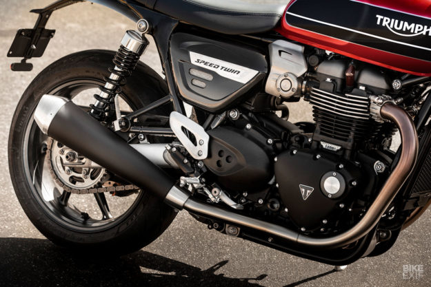 The Triumph Speed Twin revealed: specs and images