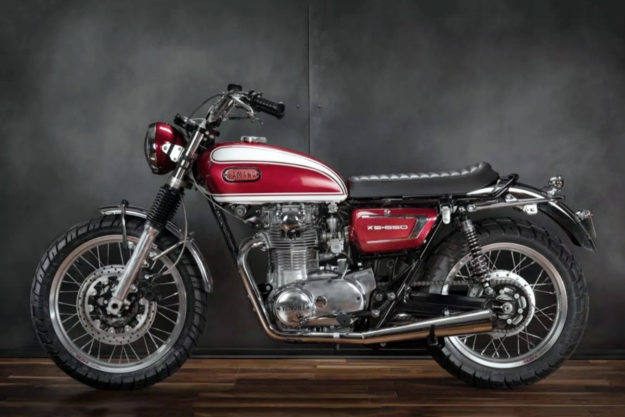 Custom Yamaha XS650 by Greg Hageman