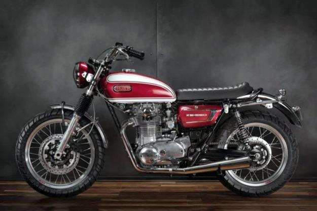 Custom Yamaha XS650 by Greg Hageman