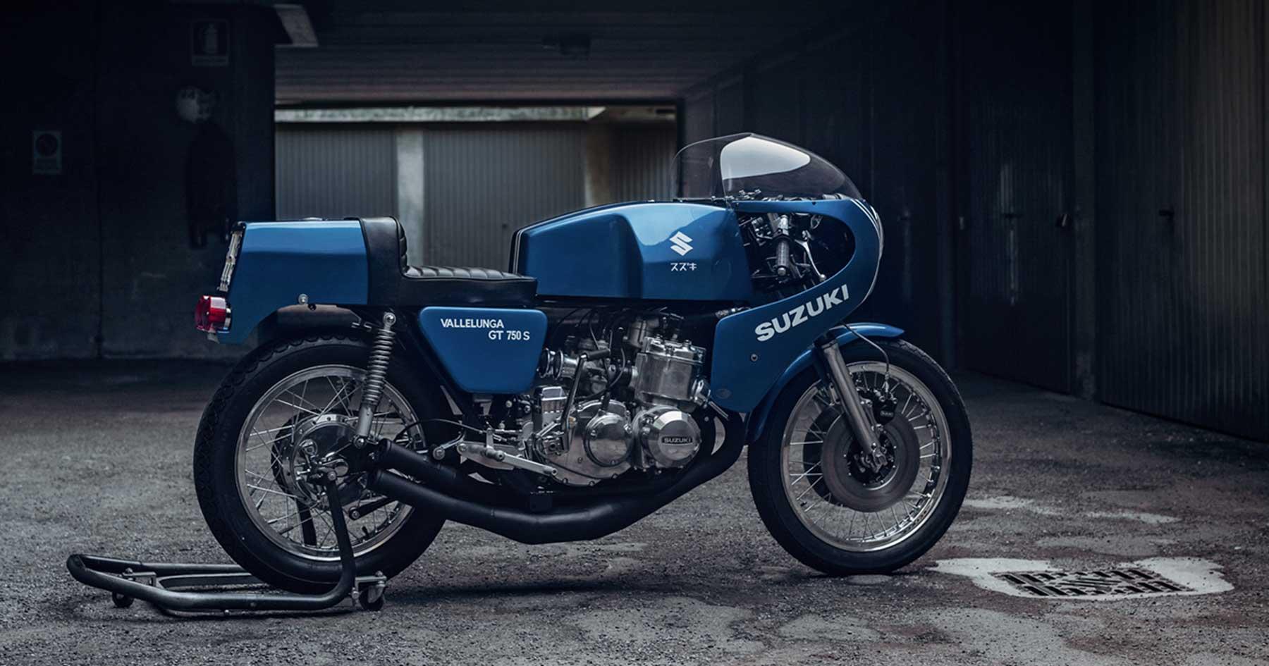 Blast from the past: A Suzuki Vallelunga roars again