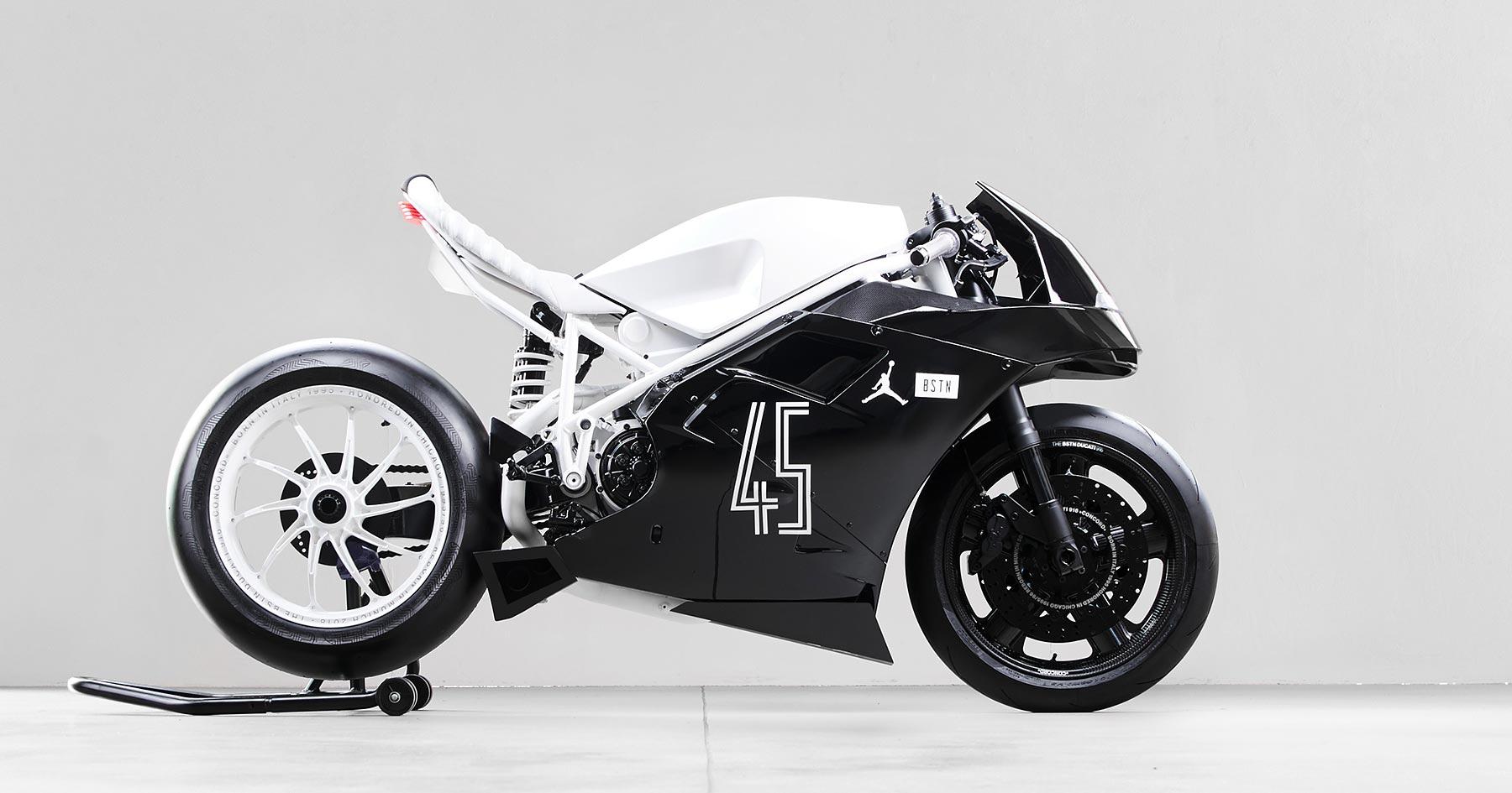 Icy Fresh: the Impuls x BSTN Ducati 916 'Concord'