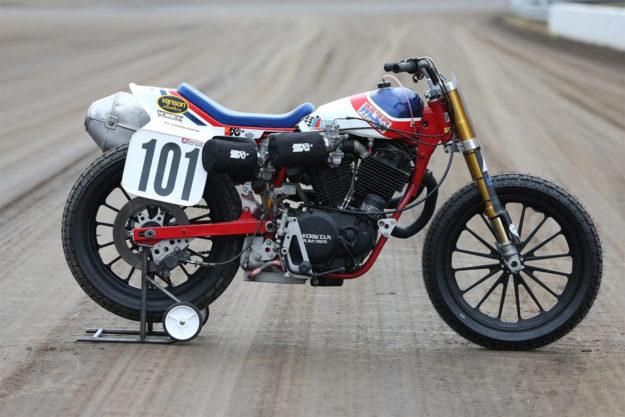 Honda RS750 racing motorcycle