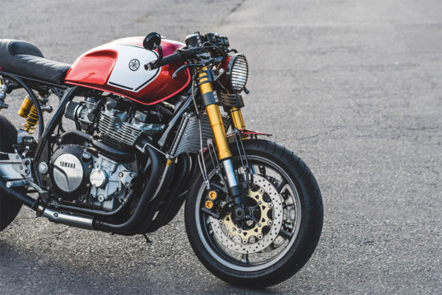 Yamaha XJR1300 cafe racer by Ian Ketterer