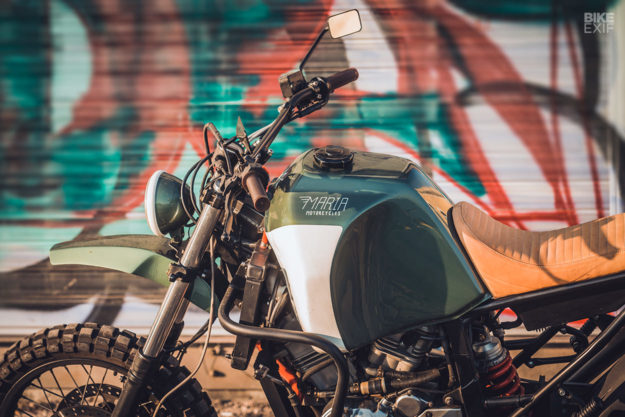 Africa Twin adventure sports custom by Maria Motorcycles