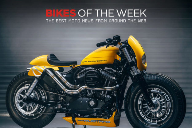 The best cafe racers, streetfighters and factory customs of the week