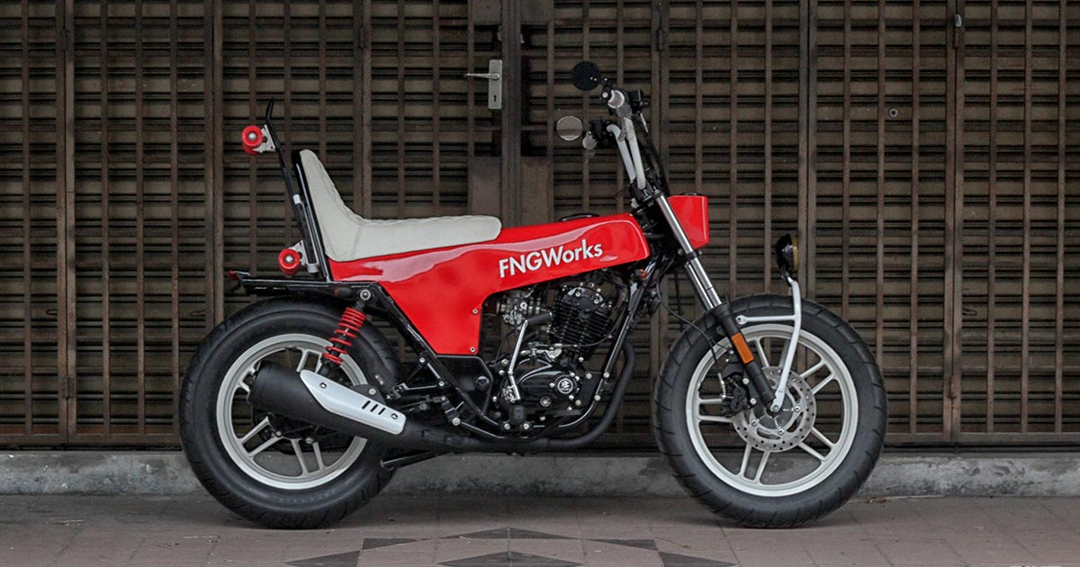A Bosozoku-inspired mini bike from Malaysia