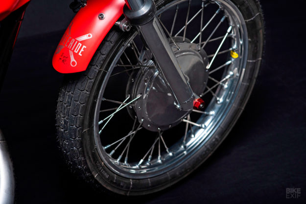 Montesa Cota 247 cafe racer conversion by Freeride Motos Racing