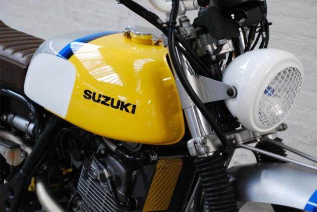 Suzuki XF650 Freewind scrambler