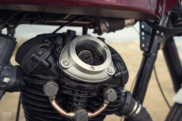 1974 Ducati Scrambler 350 restomod by November Customs