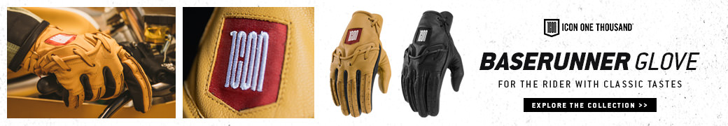 The new ICON 1000 Baserunner glove
