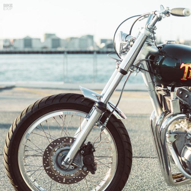 Classic 1973 Triumph Trident T150V restomod