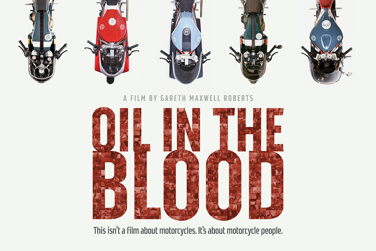 Oil In The Blood: the definitive movie about the custom motorcycle and cafe racer scene