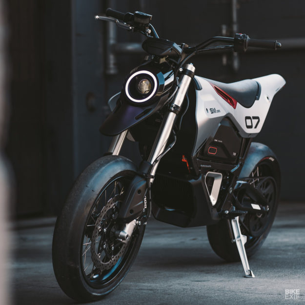 Custom Zero FXS electric motorcycle by Huge Moto