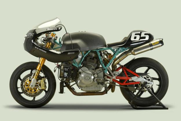 Ducati Paul Smart Special owned by the team principal of Althea Honda WSBK, Genesio Bevilacqua
