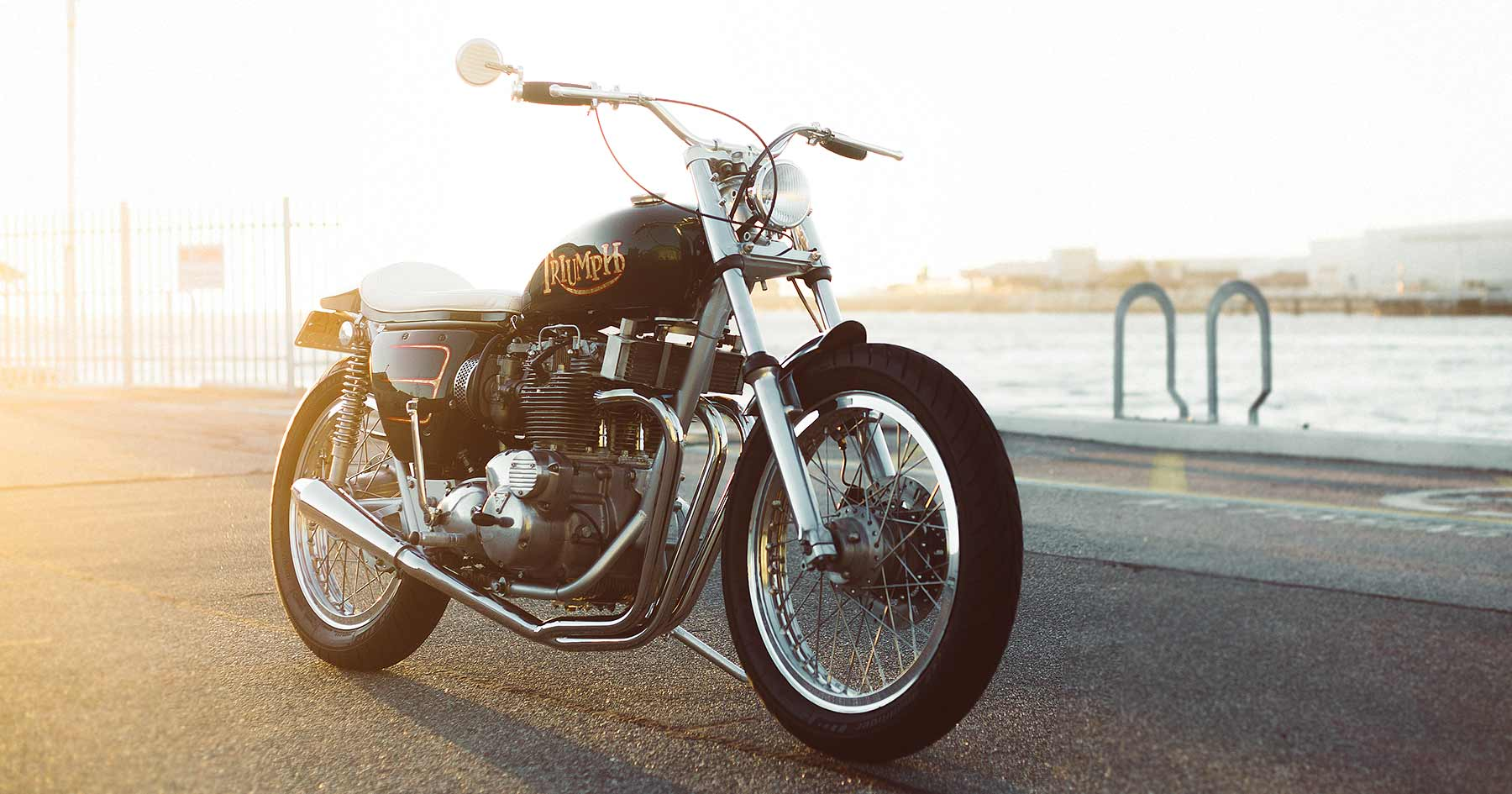 Old Gold: A classic Triumph Trident T150V restomod