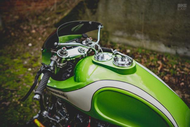 Kawasaki Zephyr 750 cafe racer by November Customs