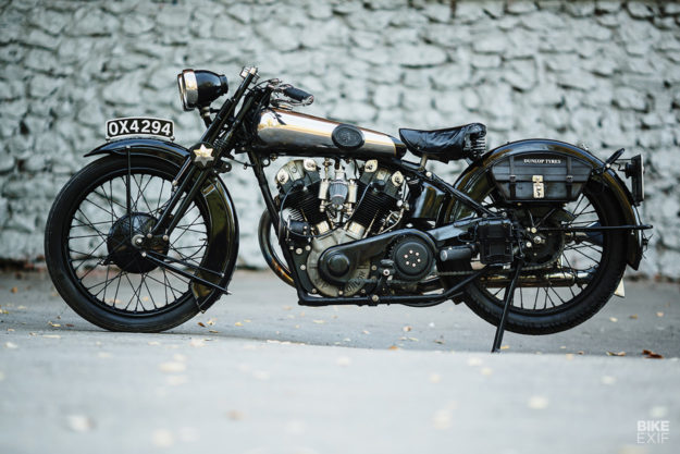 1931 Brough Superior SS100 from the Motorworld by V. Sheyanov museum in Russia