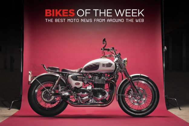 The best cafe racers and custom electric motorcycles from around the web.