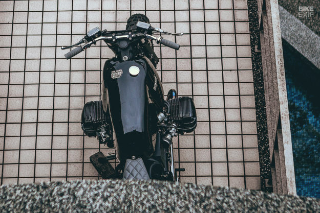 BMW R1150R scrambler by Cowboy's Chopper