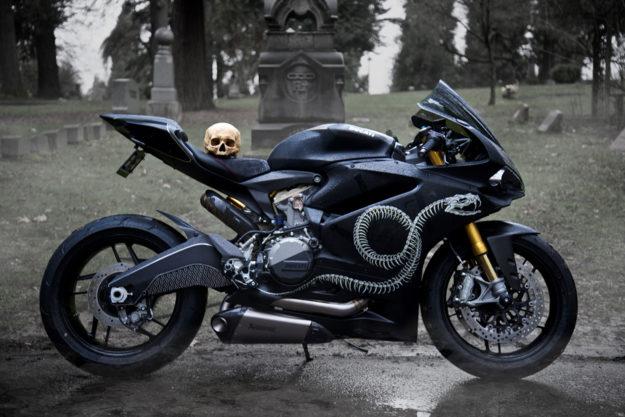 Custom Ducati Panigale 959 'Pseudoleggera'