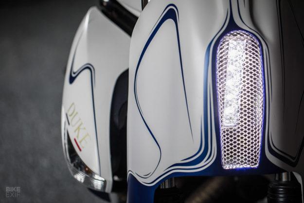 Custom Kawasaki ER6n from Duke Motorcycles