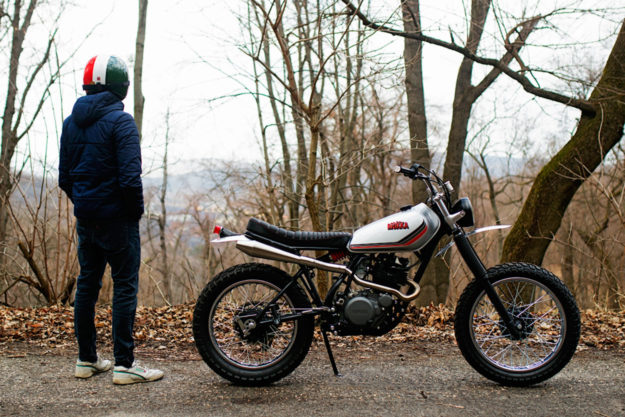 Yamaha XT250 by Mokka Cycles
