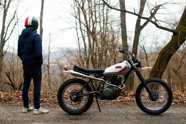 Yamaha XT250 by Mokka Cycles