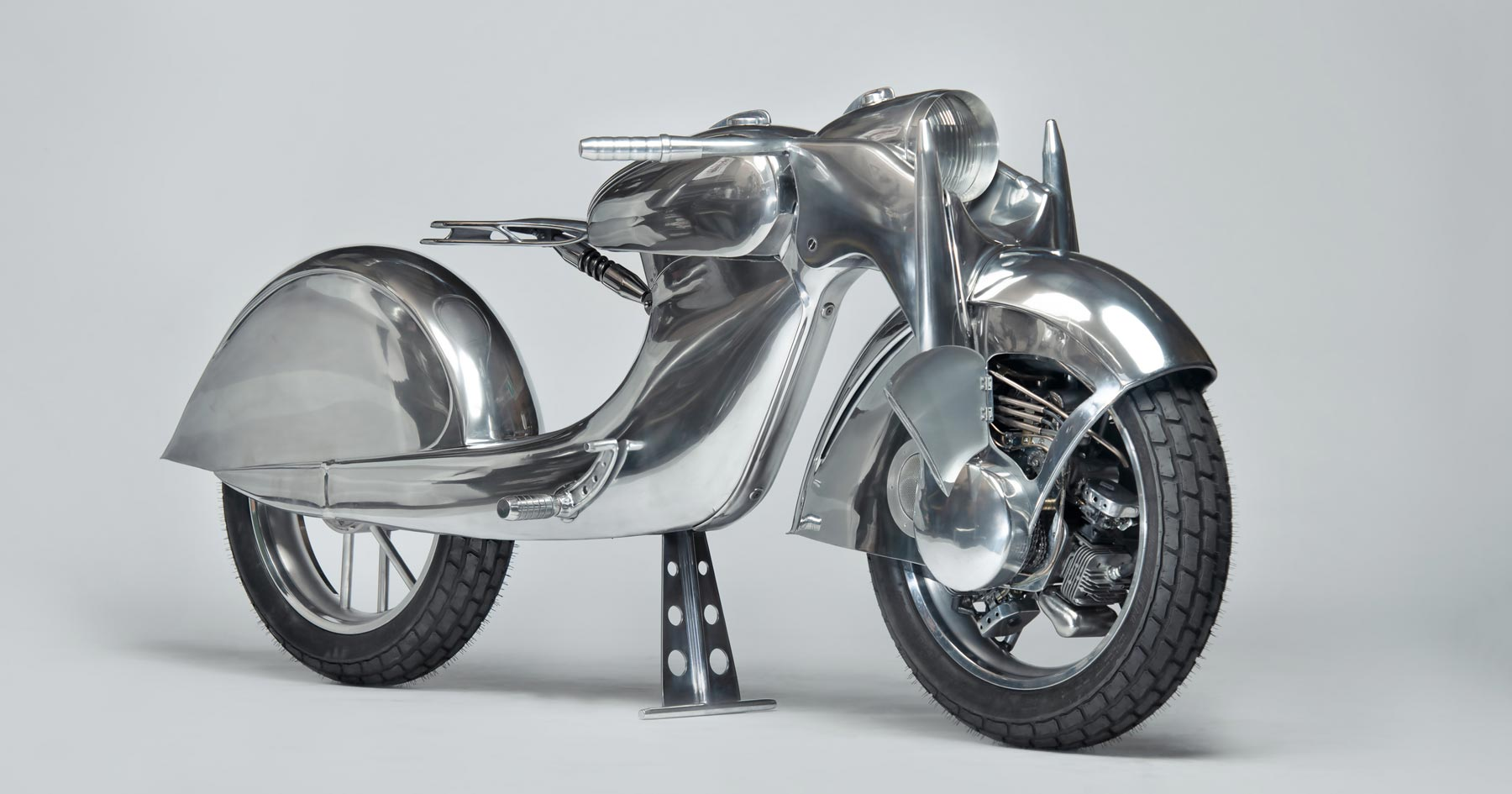 The Killer: A front wheel drive motorcycle from Rodsmith