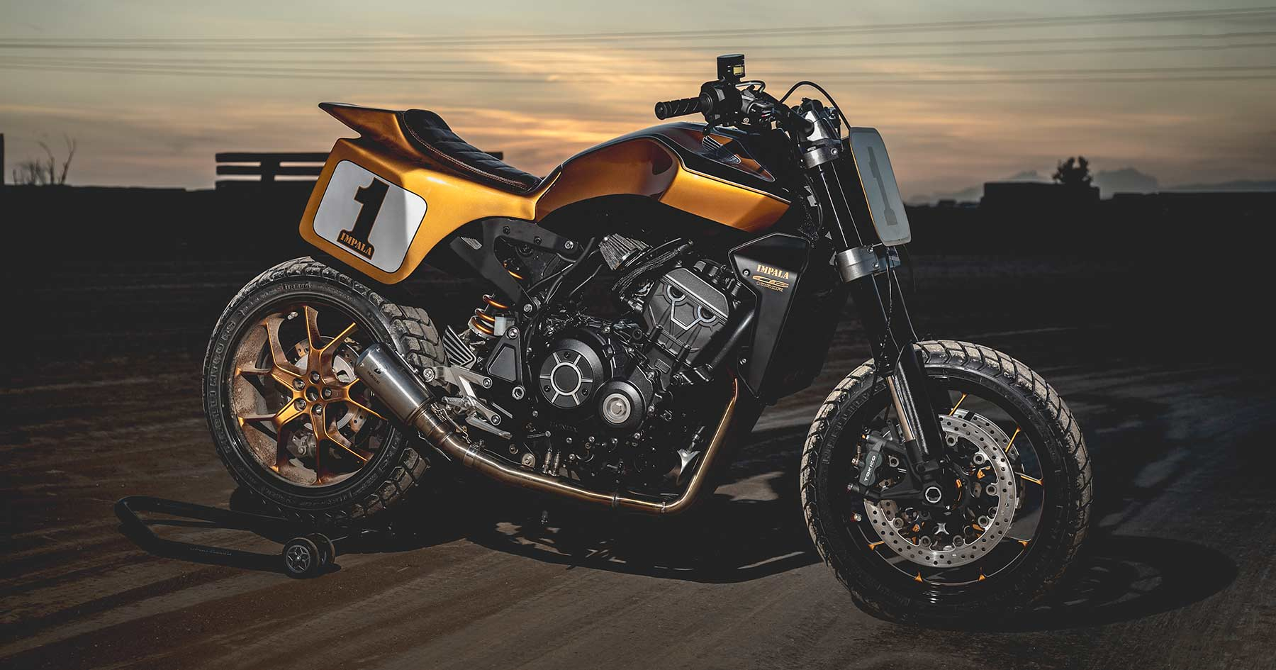 Spanish Flyer: A Honda CB1000R tweaked for the track