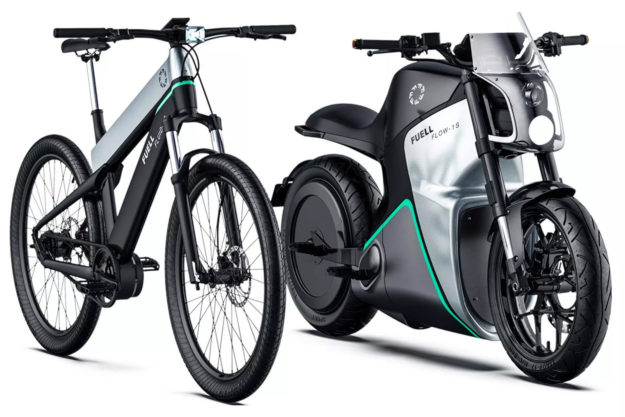 Fuell Fluid and Flow electric motorcycles