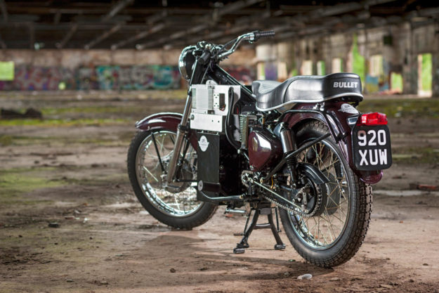 1961 Royal Enfield Bullet converted to electric power