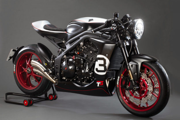 Custom Triumph Speed Triple 'Gemini' by ABM