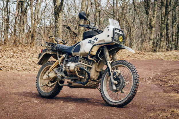 1992 BMW R100GS custom by Wheelborne
