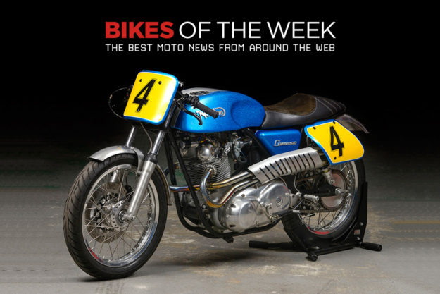 The best cafe racers, street trackers and classics from around the web.