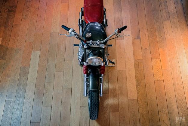 BAAK builds a modern day 'Bathtub' Triumph Bonneville T120