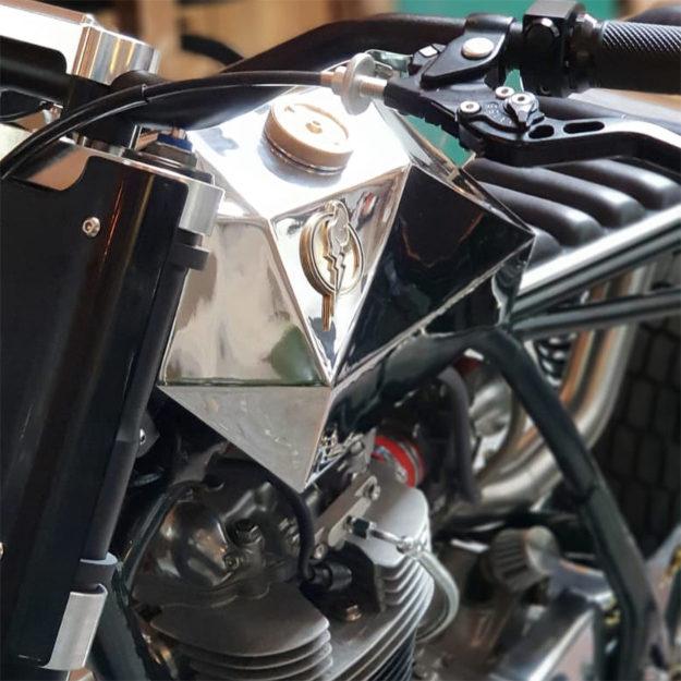 Custom Yamaha SR500 by Rebels Alliance