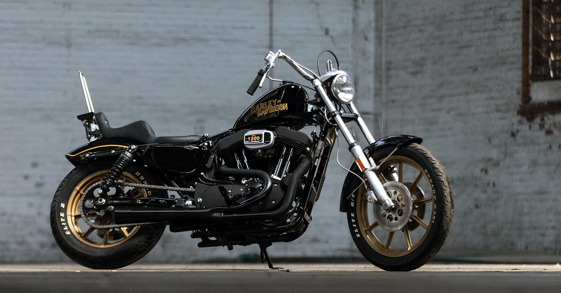 Bodacious: An 80s style Iron 1200 from Prism Supply Co.