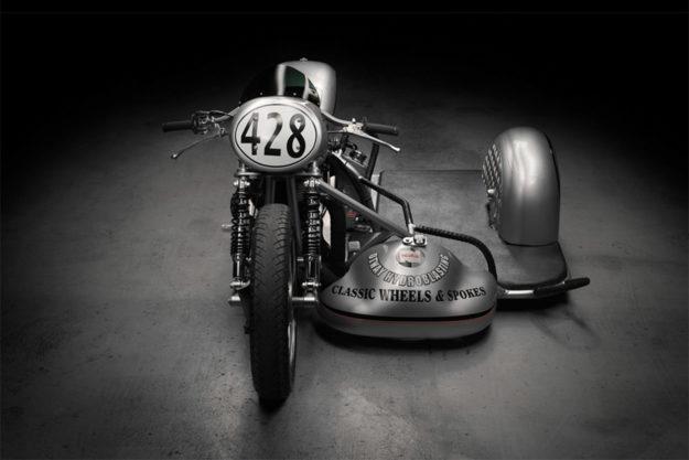 1962 Norton Atlas sidecar racing motorcycle