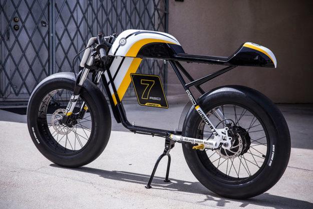 Super73 cafe racer by Roland Sands
