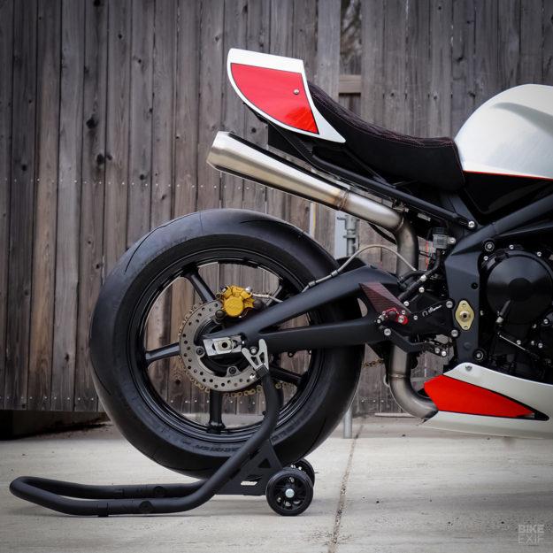Custom Triumph Street Triple 675 by Jett Design and Motorelic