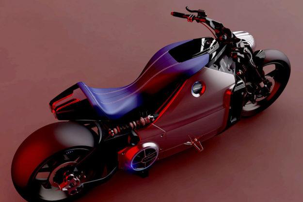 Voxan Wattman electric motorcycle