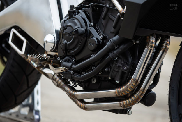 Jake Drummond's hand-built Yamaha MT-07