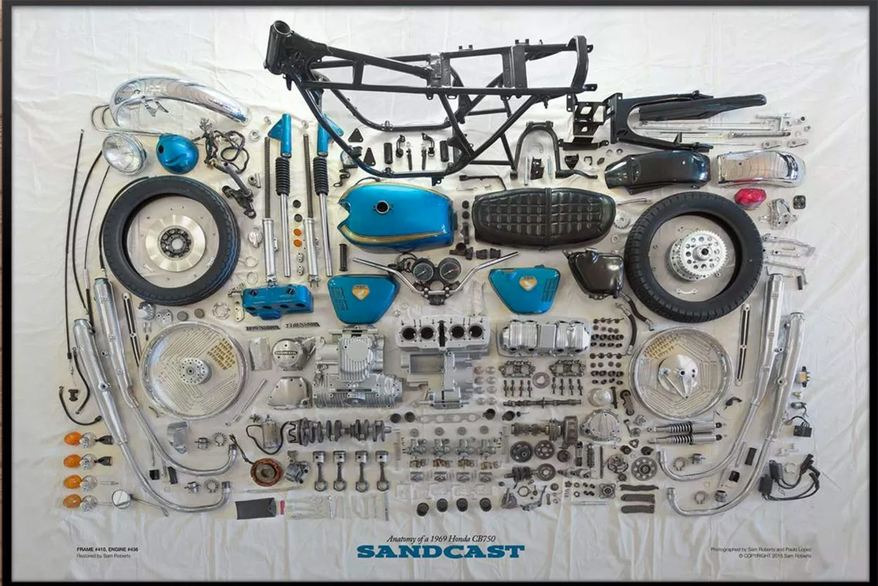 1969 Honda CB750 Sandcast Restoration